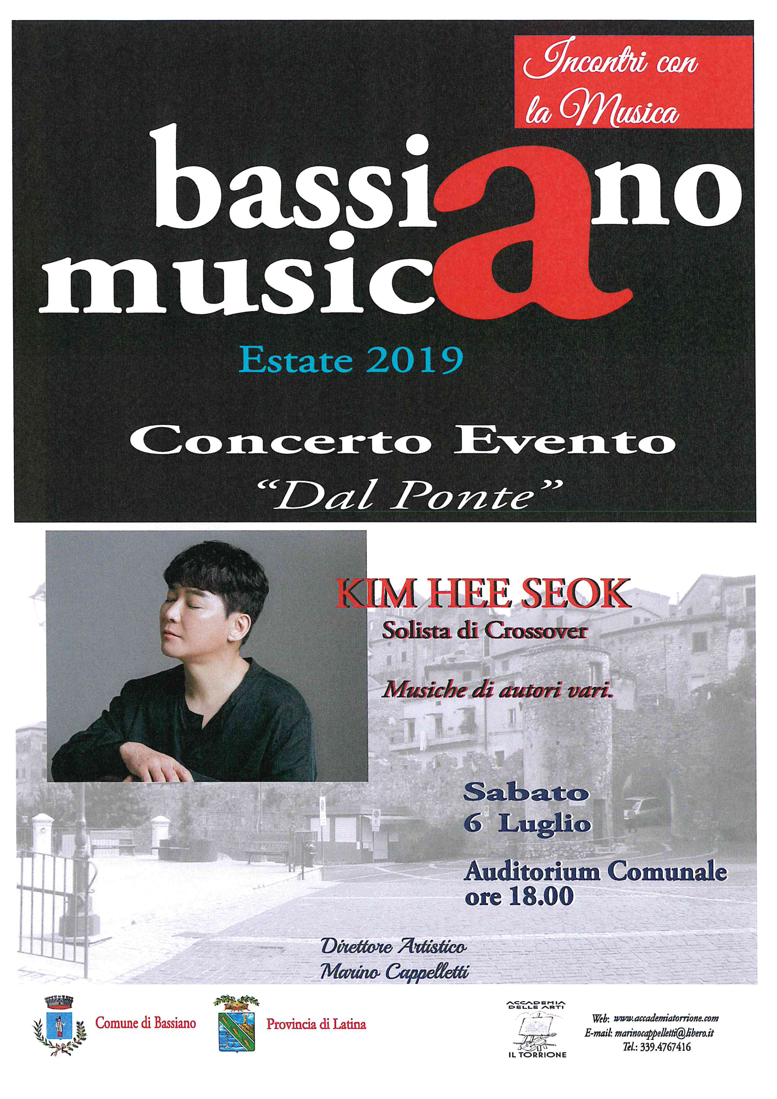 Bassiano Musica Estate 2019