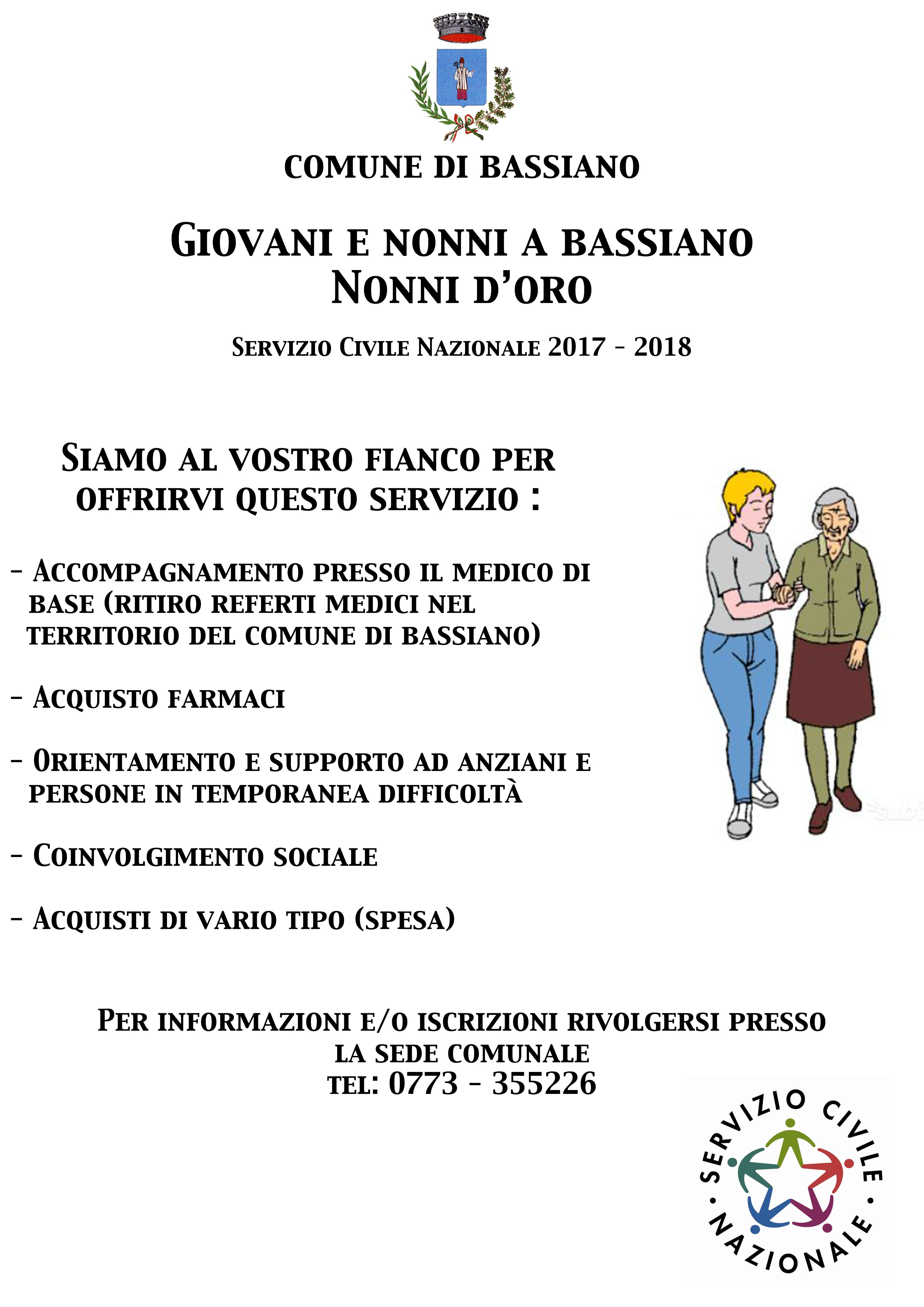 COMUNICAZIONE SERVIZIO CIVILE NAZIONALE 2017-2018