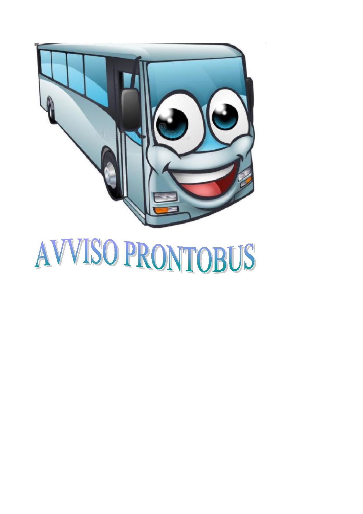 SERVIZIO DI PRONTOBUS