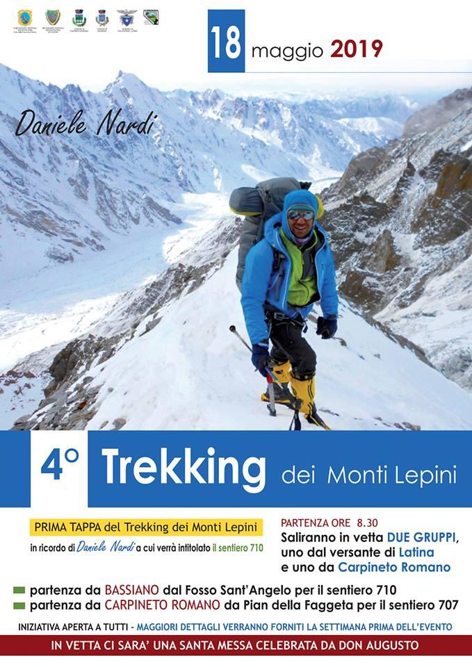4° Trekking dei Monti Lepini