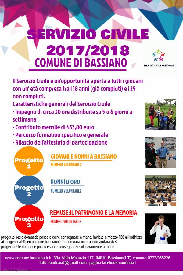 Comune di bassiano for Scadenza irpef 2017